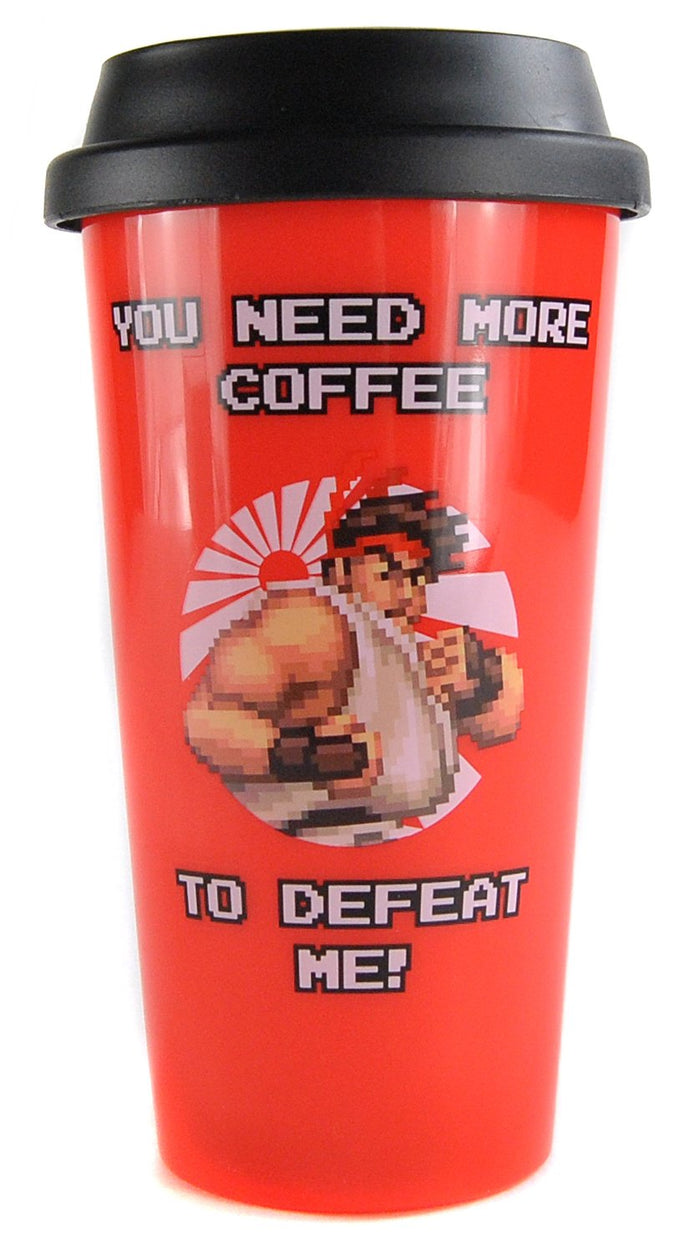 Capcom Ryu Plastic Travel Mug