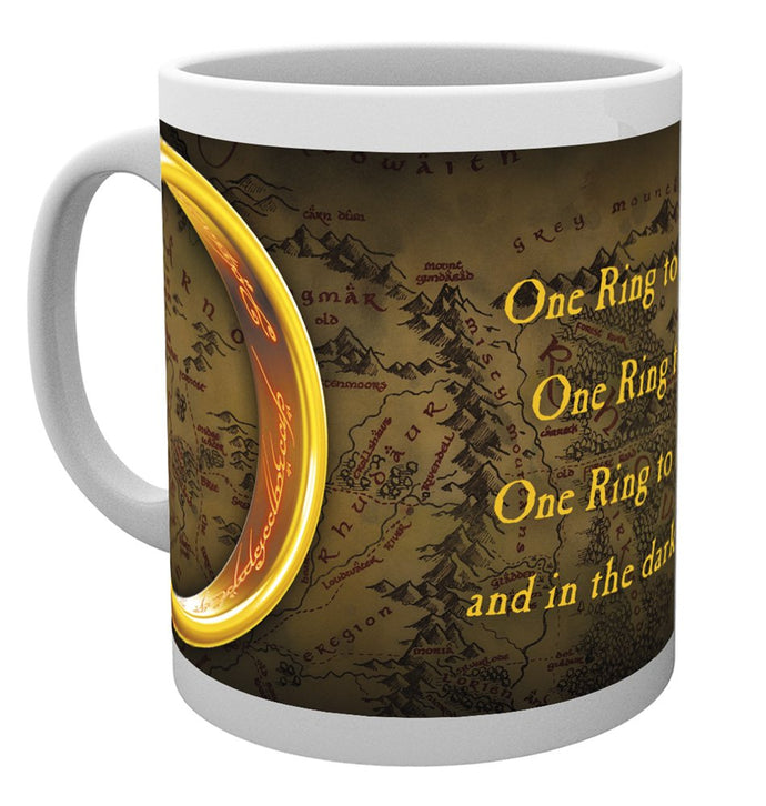 Lord Of The Rings (One Ring) Mug