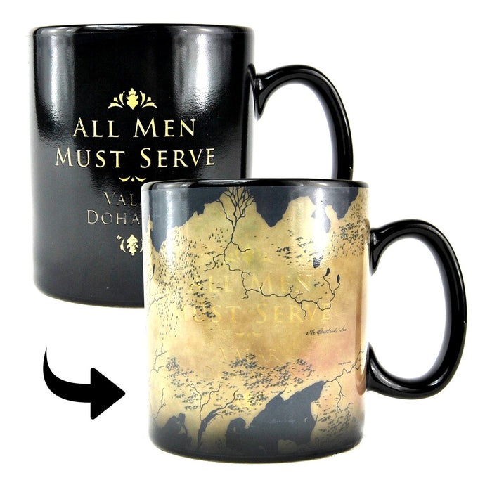 Mug Heat Change - Game Of Thrones (Map)