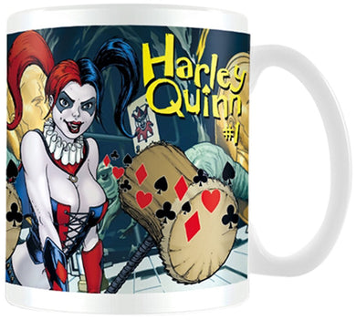 Justice League (Harley Quinn Number 1) Mug