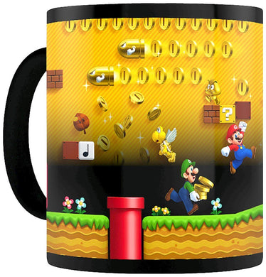 Super Mario (Gold Coin Rush) Heat Changing Mug