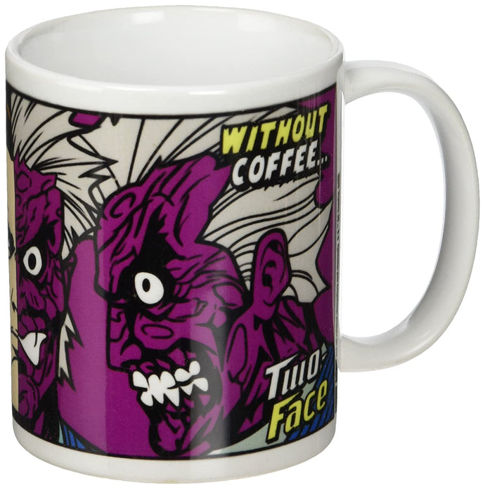 DC Comics Batman Two-Face Coffee Ceramic Mug