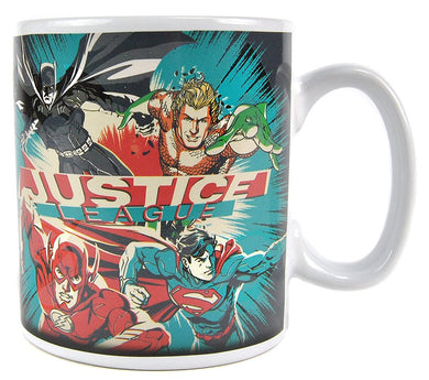 Justice League (Team) Heat Changing Mug