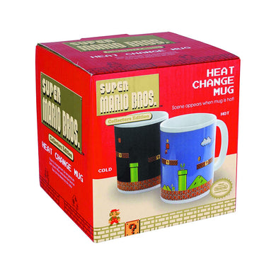 Super Mario Bros Heat Change Mug - Boxed