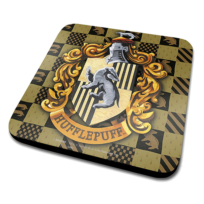 Harry Potter (Hufflepuff Crest) - Coaster
