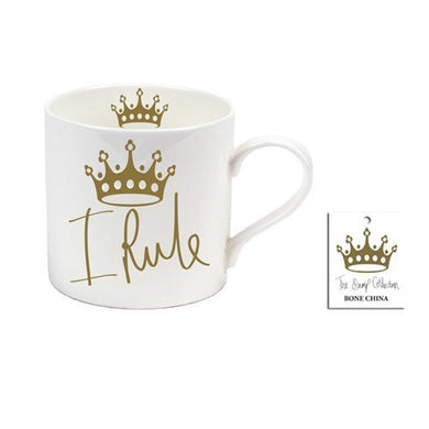 I Rule Bone China Mug