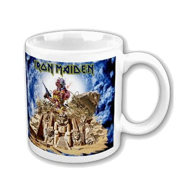 Iron Maiden Mug, Somewhere Back In Time