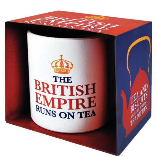 British Empire Runs On Tea Mug