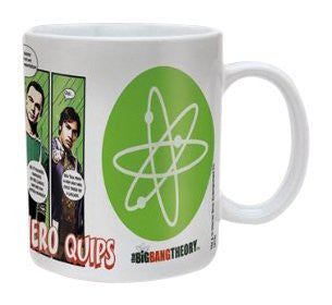Big Bang Theory (Superhero Quips) - Boxed Mug