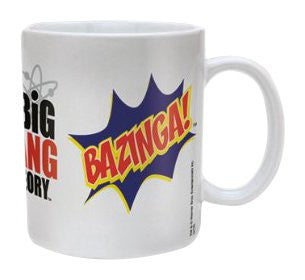 Big Bang Theory (Bazinga Burst) - Boxed Mug