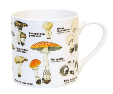 Ecologie - Bone China Mug - Mushrooms