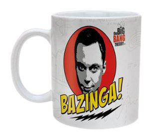 Big Bang Theory (Bazinga) - Boxed Mug