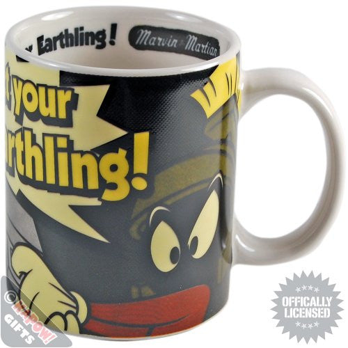Looney Tunes Marvin The Martian Mug Gift Boxed Officially Licensed