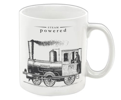 Victoriana - Porcelain Mug - Steam Powered