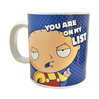 Family Guy Giant Mug, You Are On My List