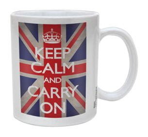Keep Calm - Union Jack - Boxed Mug