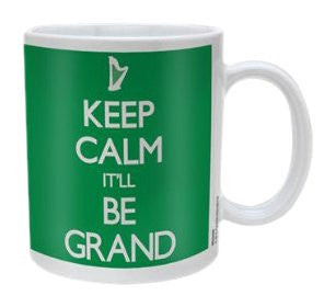 Keep Calm It'Ll Be Grand - Boxed Mug