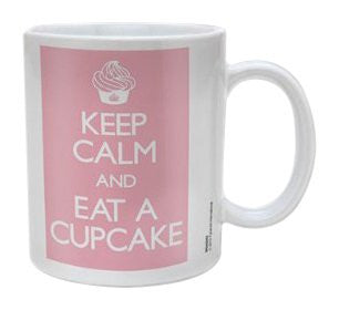 Keep Calm - Cupcake - Boxed Mug