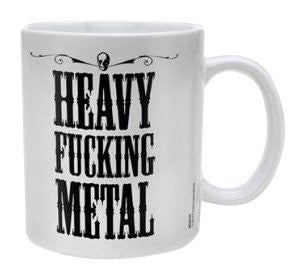 Heavy Fucking Metal - Boxed Mug