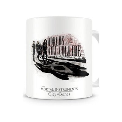 Mortal Instruments 1-Piece Ceramic Worlds Will Collide Mug  Mug