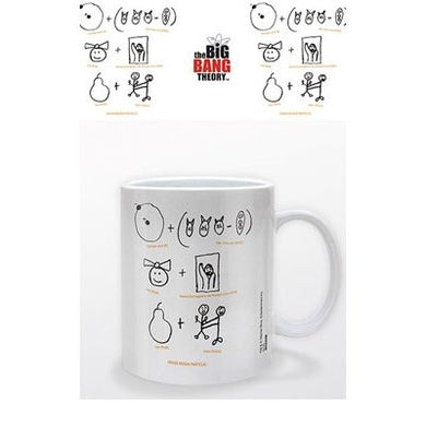 Big Bang Theory - Higgs Boson Particle - Boxed Mug