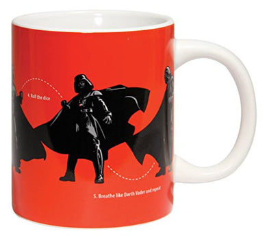 Star Wars Darth Vader Dance Instructions Mug