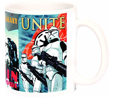 Star Wars Heroes And Villains Mug