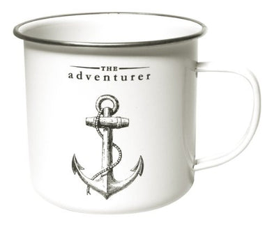 Victoriana - Enamel Mug - The Adventurer
