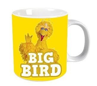 Sesame Street Big Bird Giant Mug In A Box - 900Ml