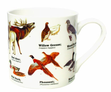 Ecologie - Wild Animals Bone China Mug - Multi