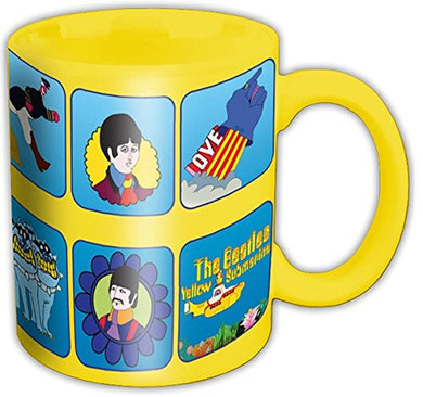 Beatles Boxed Mug: Yellow Submarine Characters