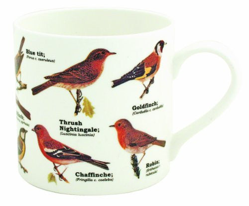 Garden Birds Bone China Mug