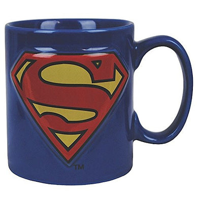 Superman (Logo) Embossed 14Oz Mug