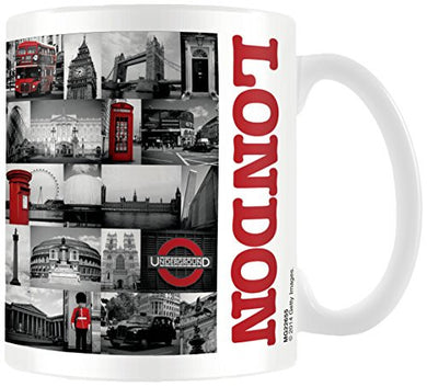 London (Red Collage) - Boxed Mug