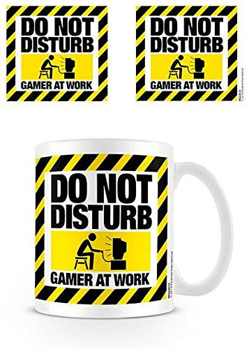 Do Not Disturb (Gamer At Work) - Boxed Mug