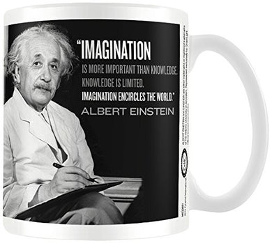 Albert Einstein (Imagination) - Boxed Mug