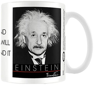 Albert Einstein (Nature) - Boxed Mug