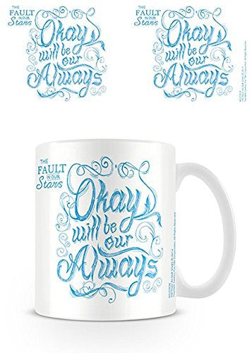 Fault In Our Stars (Script) - Boxed Mug