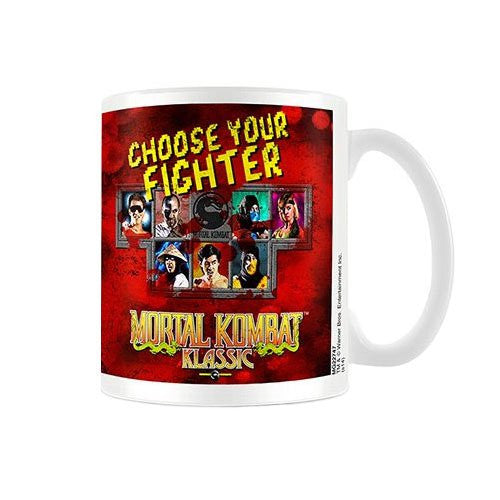 Mortal Kombat (Choose Your Fighter) - Boxed Mug