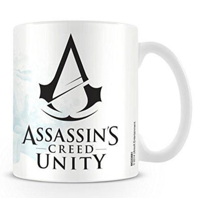 Assassin'S Creed Unity (Black Logo) Mug