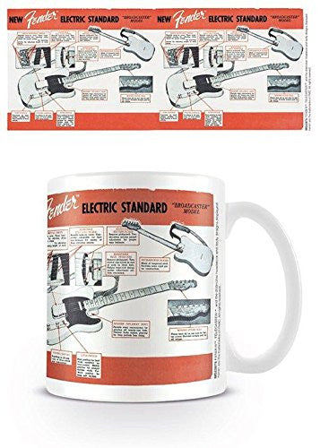 Fender - Electric Standard - Boxed Mug