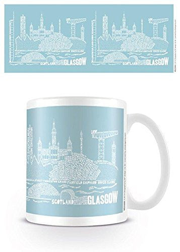 Citography - Glasgow - Boxed Mug