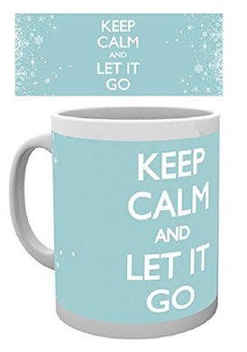 Keep Calm Let It Go Mug