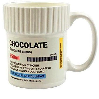 Chocolate Prescription Pill Pot Mug