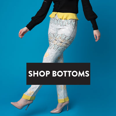 KKristina pants, trousers. Printed pants, fitted pants. Shop Online. High Quality Pants. Designer Pants.
