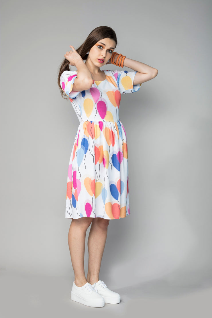 FLY AWAY BALLOON DRESS