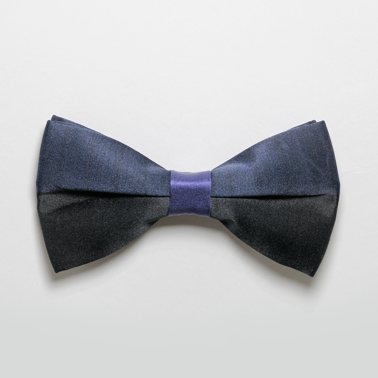The Black and Blue Bowtie