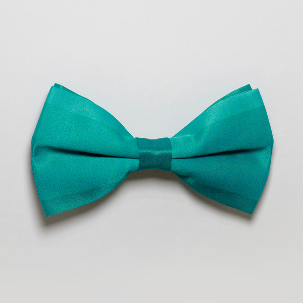 Striped Teal Bowtie