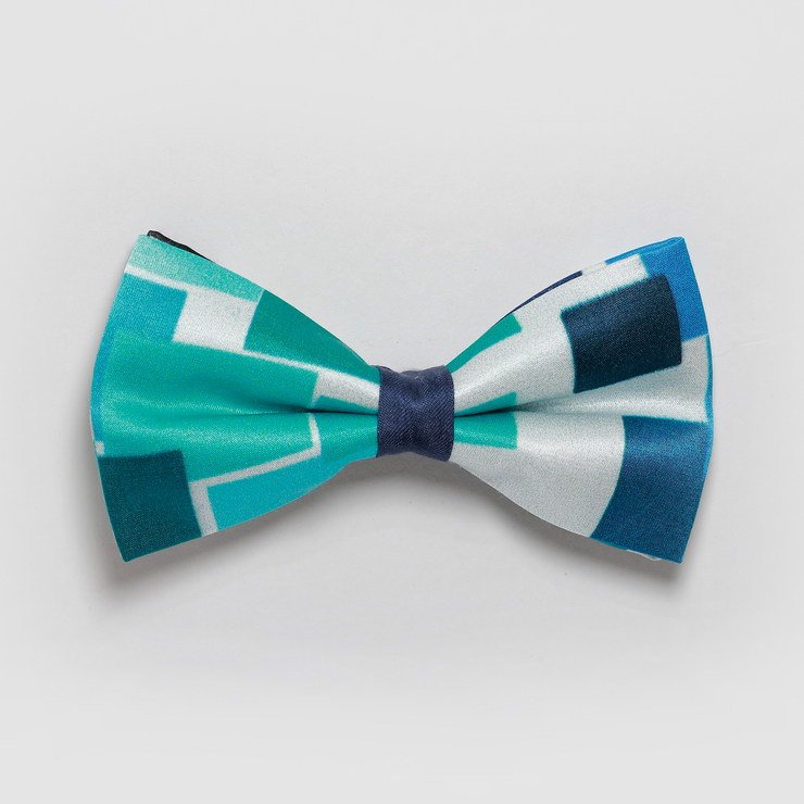Blues Checkered Bowtie