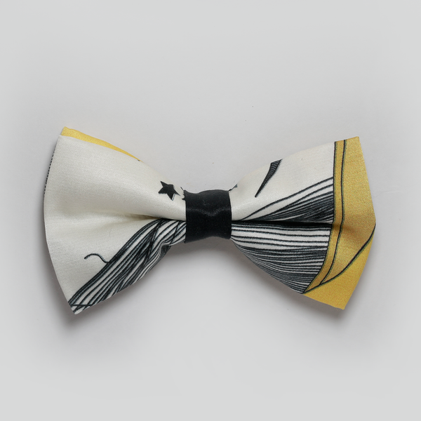 Black and Yellow Bowtie